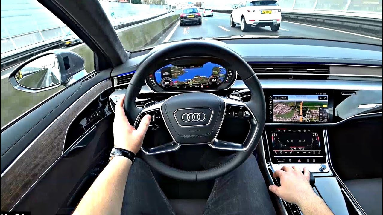 The new audi a8 2018 test drive youtube the new audi a8 2018 test drive sciox Image collections