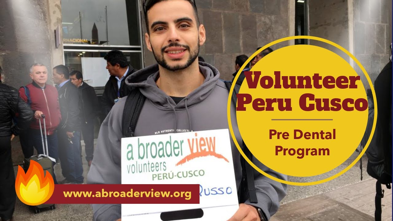 Where to Volunteer in Cusco Peru? Pre Dental Student Program Review Giovanni Russo