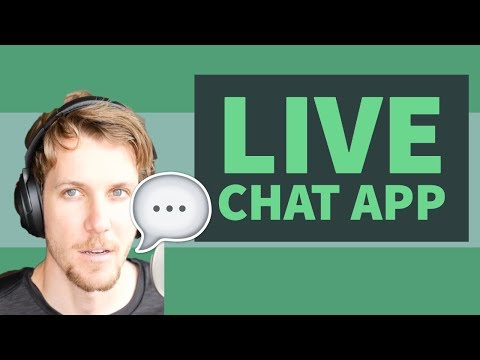 Live Chat App with React Tutorial | React Hooks, Material UI