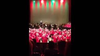 Julpotpurri Norrstrands musikklasser Luciakonsert 2013