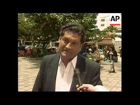 COLOMBIA: ECONOMIC CRISIS