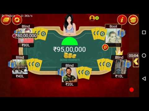 Octro teen patti hack channal pot play game December 31, 2016