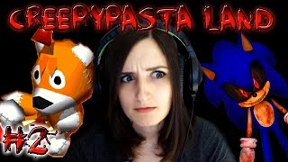 Sonic.exe & The Tails Doll Curse!! - Creepypasta Land Part 2 (RPG Maker Game)