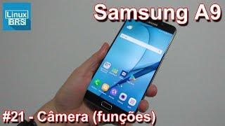 Neste vídeo as funções da câmera com o Samsung Galaxy A9 2016. Se i...
