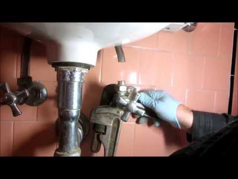 replace old outdated lav sink
