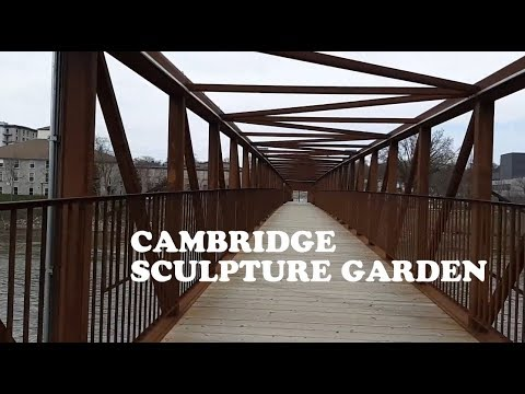 Cambridge Sculpture Garden, Cambridge, Ontario, Canada
