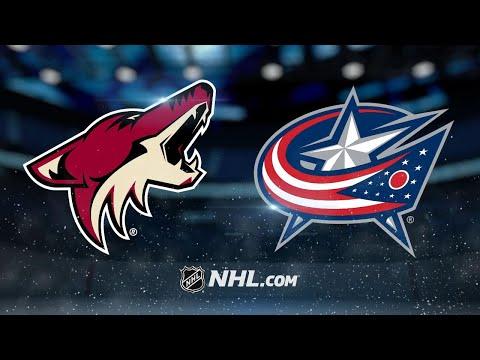 Bobrovsky, Blue Jackets blank Coyotes, 1-0