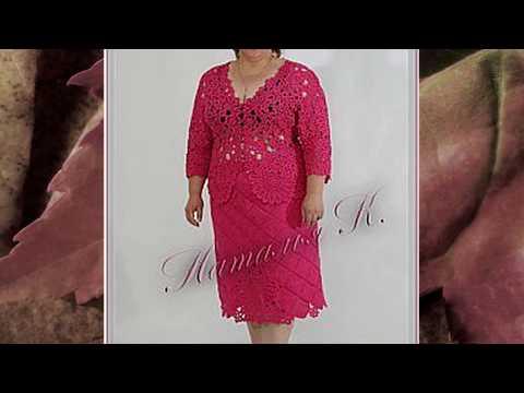 Pletena Moda Вязание для полных дам #2 (Crochet & Knitting)