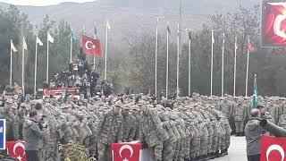 Amasya 1998/4 devre ve 373 Kısa Dönem Askerlerin Yemin Töreni - 15 Piyade Eğitim Tugayı - 23.11.2018