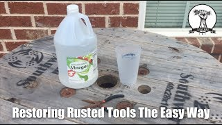 Easiest Way to Remove Rust from Tools