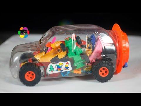 لعبة سيارة المفاجأت واجمل العاب السيارات للاطفال | الالعاب للبنات والاولاد