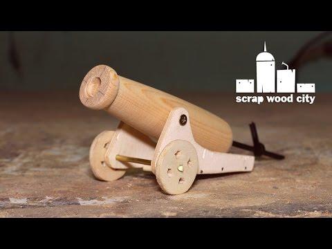 How To Make A Mini Wooden Toy Canon Youtube