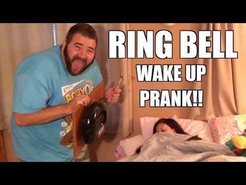 WRESTLING RING BELL WAKE UP PRANK ON HEEL WIFE! GRIM UNBOXES SLOBBERKNOCKERBOX!