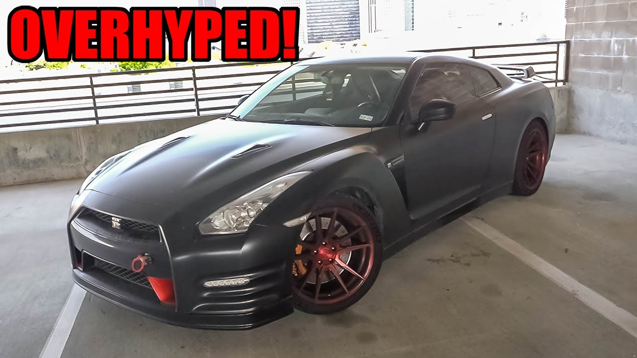 The R35 Nissan GTR is OVERHYPED! (WHY I DIDN'T LIKE MY NISSAN GTR!)
