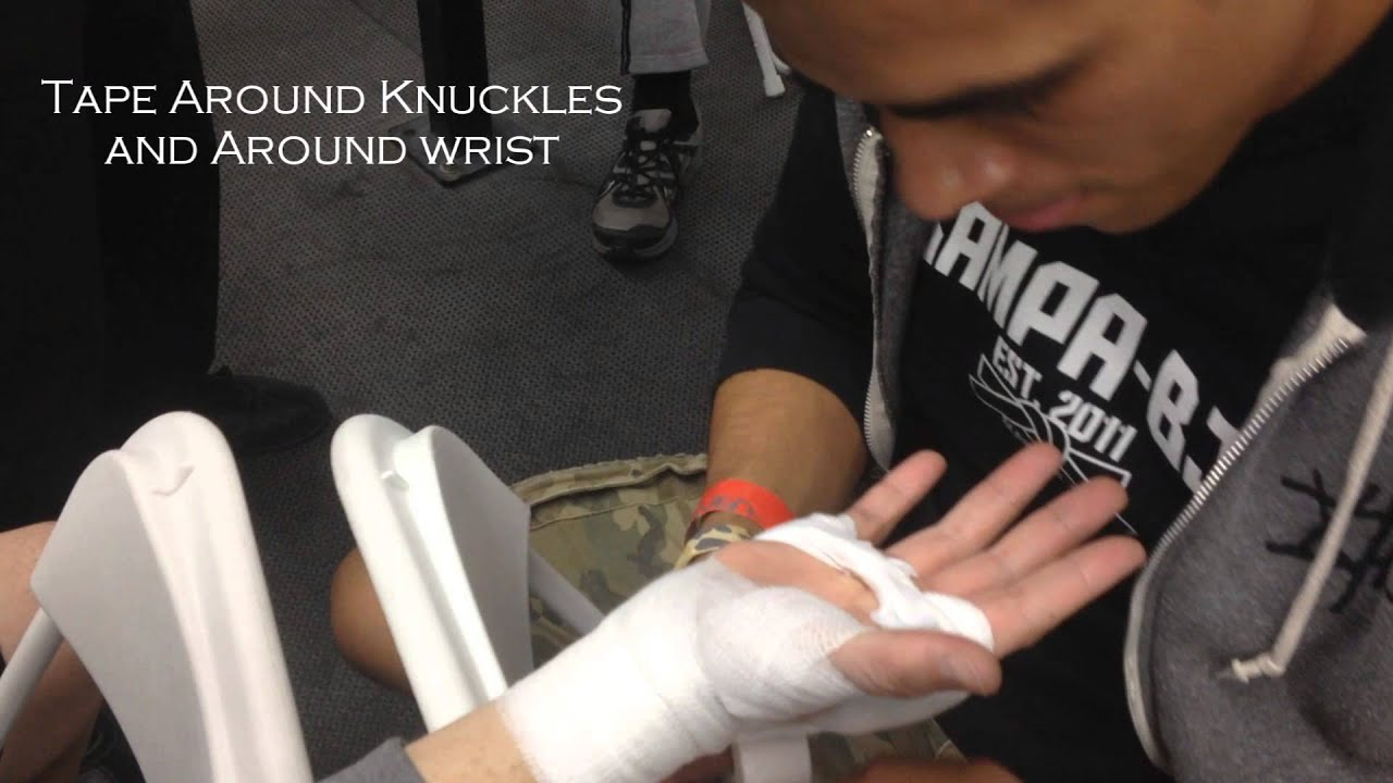 Glendora Muay Thai How To Wrap Your Hands For Camo Amateur Fight