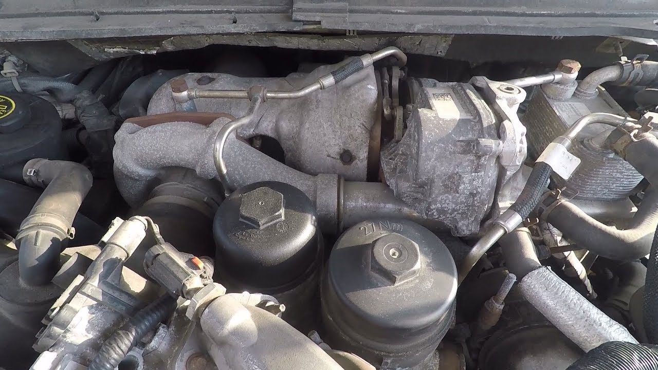 ford f250 6 4 diesel diy replace fuel filter [ 1280 x 720 Pixel ]