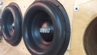 2 Sundown X 12s / Mikes Camry gets even louder! 150+ DB