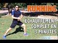 Muscles douloureux - Échauffement complet avant un footing en 3 Minutes