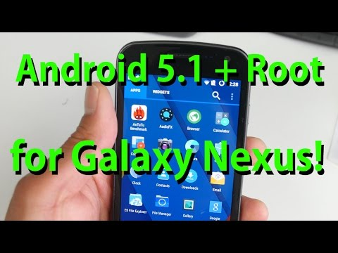 Android 5.1 + Root for Galaxy Nexus! [CM12.1 ROM]