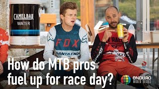 How do MTB pros fuel up for race day?