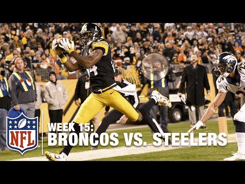 Antonio Brown Gets 1st TD On Chris Harris in 2 Years! | Steelers vs. Broncos | NFL