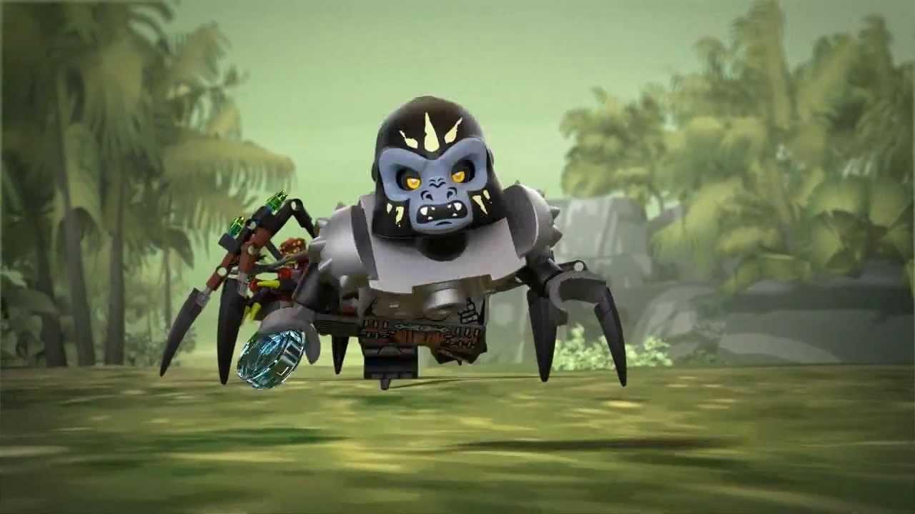 Lego Chima | 70130 | Sparratus Spider Stalker | Lego 3D ...
