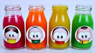 TURMA DA MONICA TOY Surpresas Amoeba Learn Colors with Slime Brinquedos Canal KidsToyShow