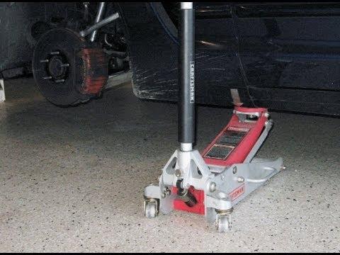 Corvette lifting jacking 3 jack method by froggy raise lift