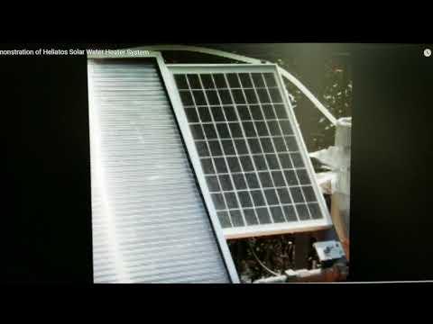 Solar Hot Water Heater System Installation