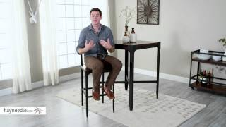 Belham Living Trenton Wood and Metal Bar Stool - Product Review Video