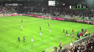 SK Sturm Graz MEISTERTITEL - Innsbruck 2:1 - Impressionen von der Nordkurve Graz