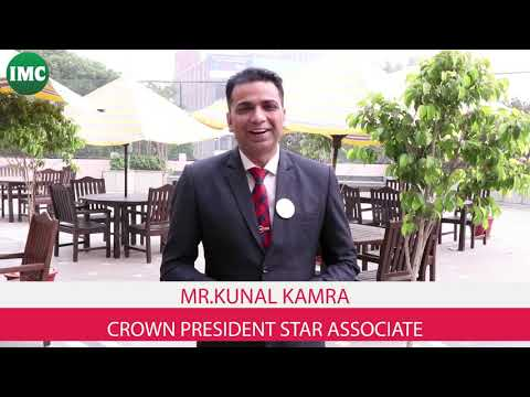 Crown President of IMC Kunal Kamra inviting associates for Mega Seminar
