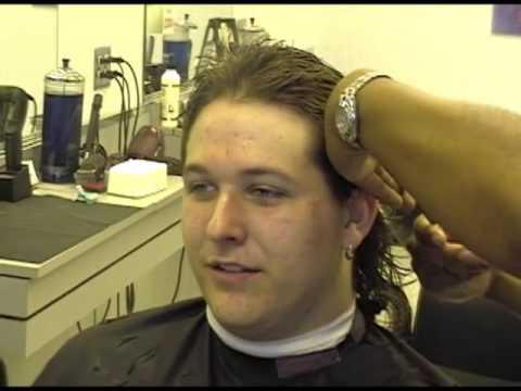 Jordy Getting His Mullet June 24 2002