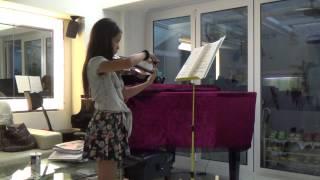 ABRSM Grade 8  Violin Remembrances -- John Williams Schindler