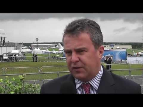 BOC Aviation chief executive Robert Martin