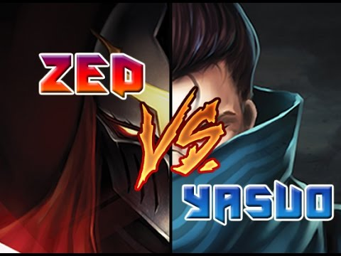 Video LMHT : Zed vs Yasuo