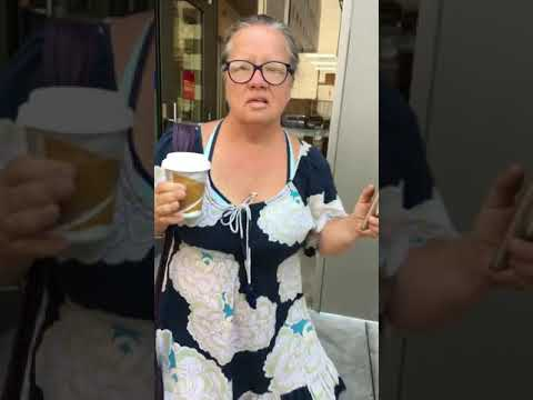 #IceCoffeeCathy Calls ICE on Breastfeeding Hispanic Woman in LA