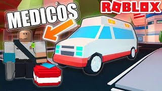 THE DOCTORS COME TO JAILBREAK! ❌😱 | ROBLOX |