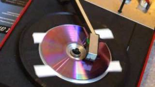Schallplatten schneiden mit Hausmitteln - CD, Stecknadel, Lautsprecher