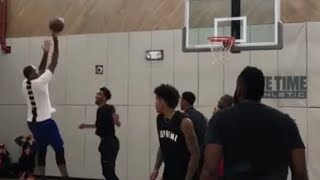 Pickup Harden, Carmelo Playing Together Smooth!