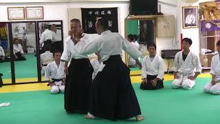 谷本館長稽古会 天六道場 20170826③