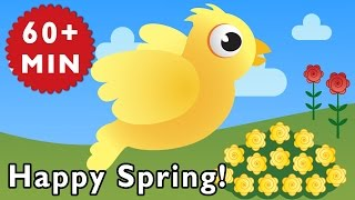 Happy Spring | Nursery Rhymes From Mother Goose Club!