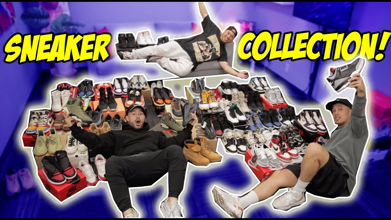 HYPETALK'S ENTIRE SNEAKER COLLECTION! Do they have heat?