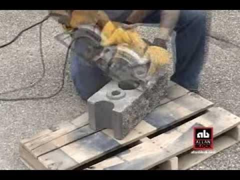 How to Cut AB Courtyard Blocks