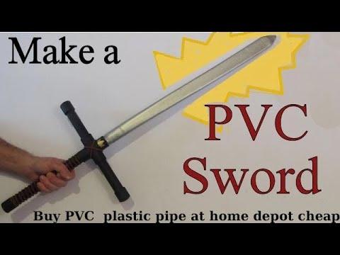 How to Make a PVC sword