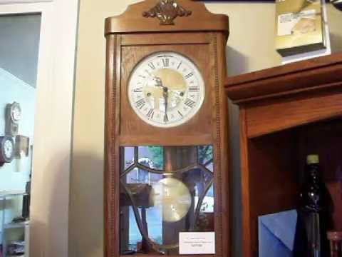 Jauch Dual Chime Westminster Ave Maria Wall Clock