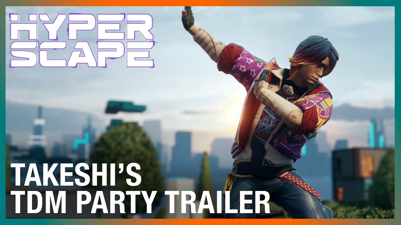 Hyper Scape: Takeshi's TDM Party In-Game Event Trailer | Ubisoft
