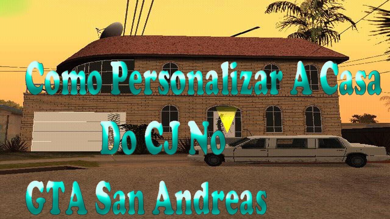 Como personalizar a casa do cj no gta san andreas youtube for Casa moderna gta sa