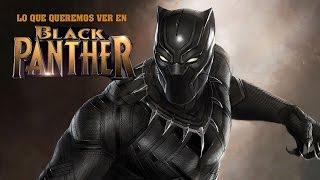 7 Cosas Que Queremos ver en Black Panther