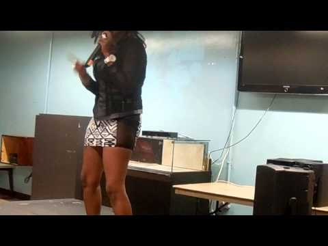 P-MONEY PT CARIBBEAN TV @ EASTCHESTER GARDENS COMMUNITY CENTER THE BRONX WITH TEAM